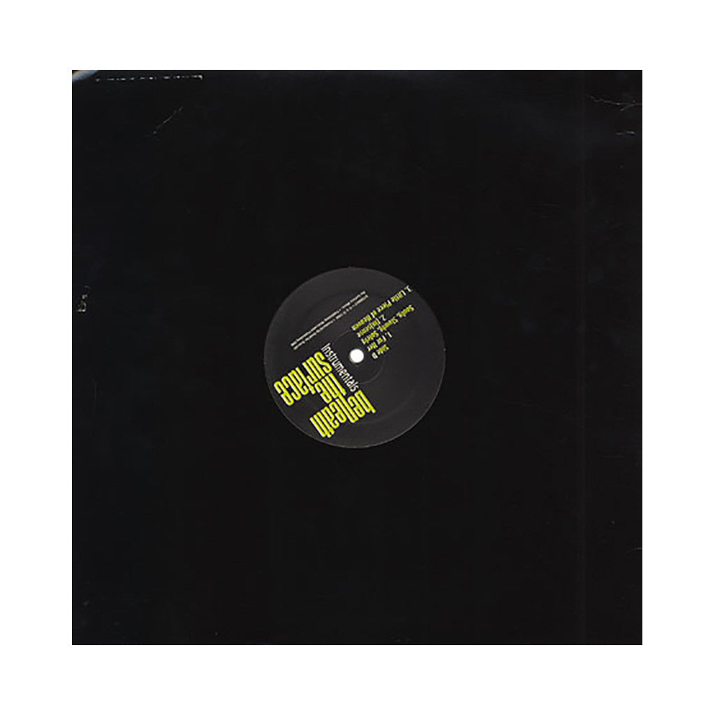 <!--020040101011770-->Omid - 'Beneath The Surface (Instrumentals)' [(Black) Vinyl [2LP]]