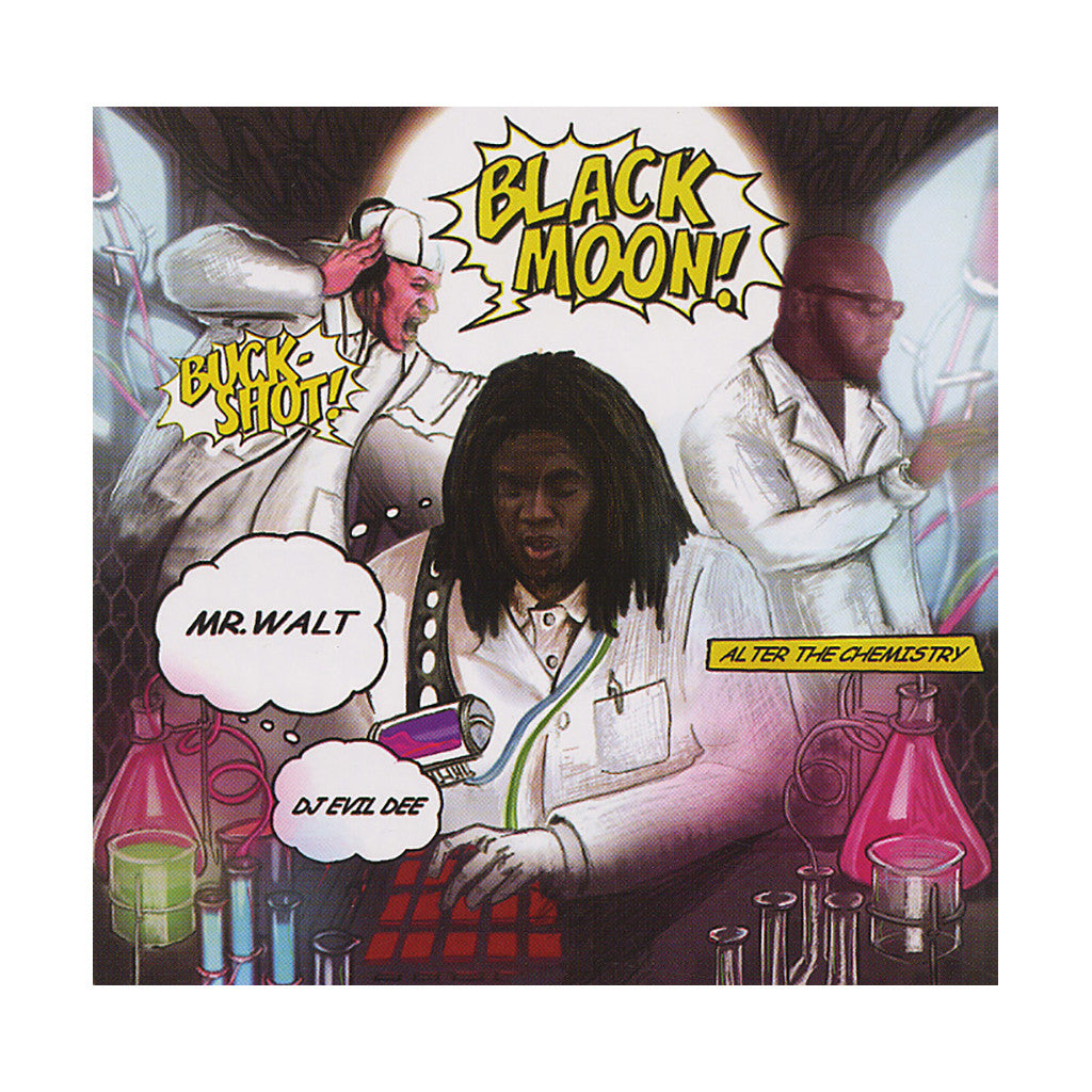Black Moon & Da Beatminerz - 'Alter The Chemistry' [CD]