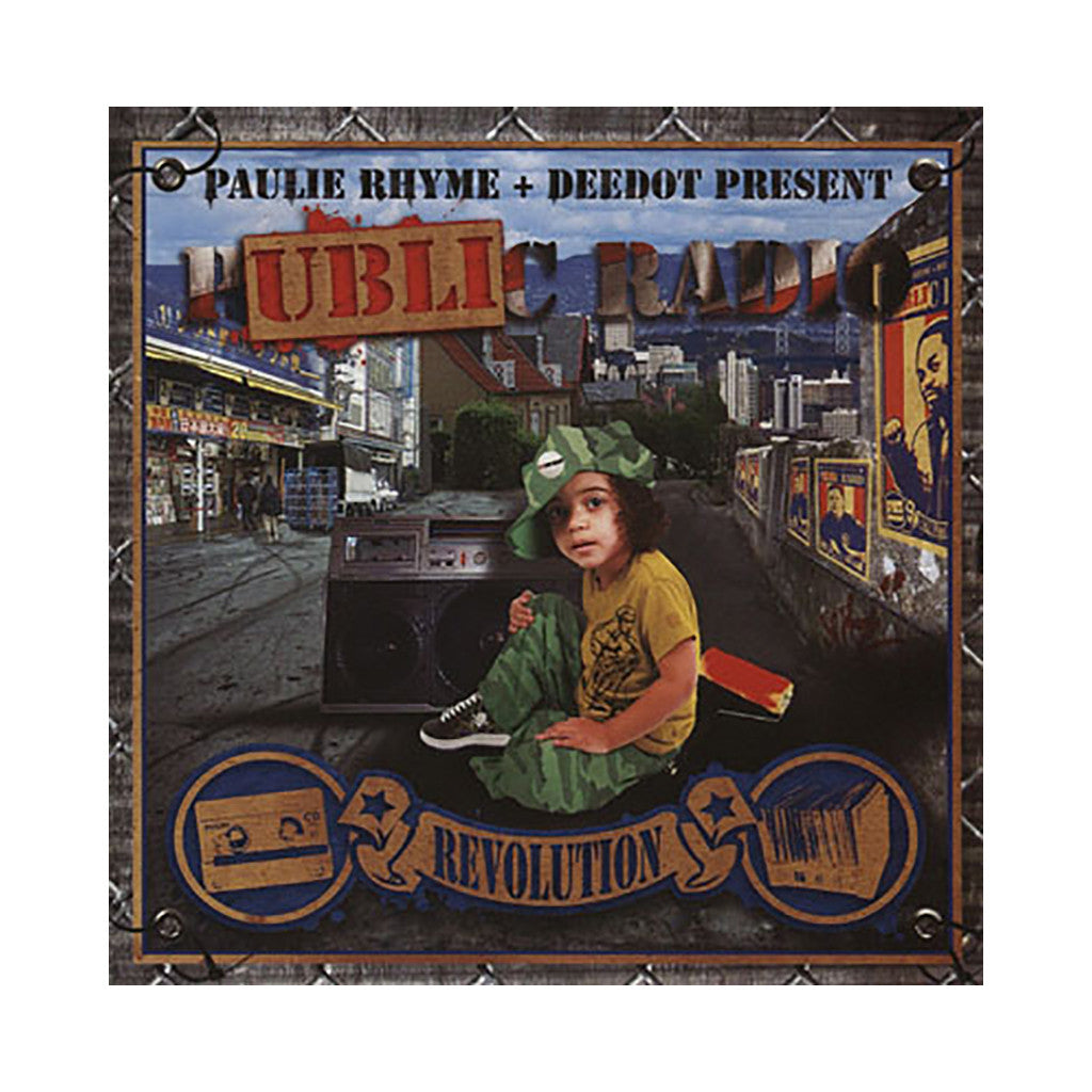 Paulie Rhyme & Deedot - 'Public Radio' [CD]