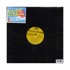 "Paulie Rhyme & Joe Dukes - 'Dust Till Dawn/ Next Of Kin' [(Black) 12"" Vinyl Single]"