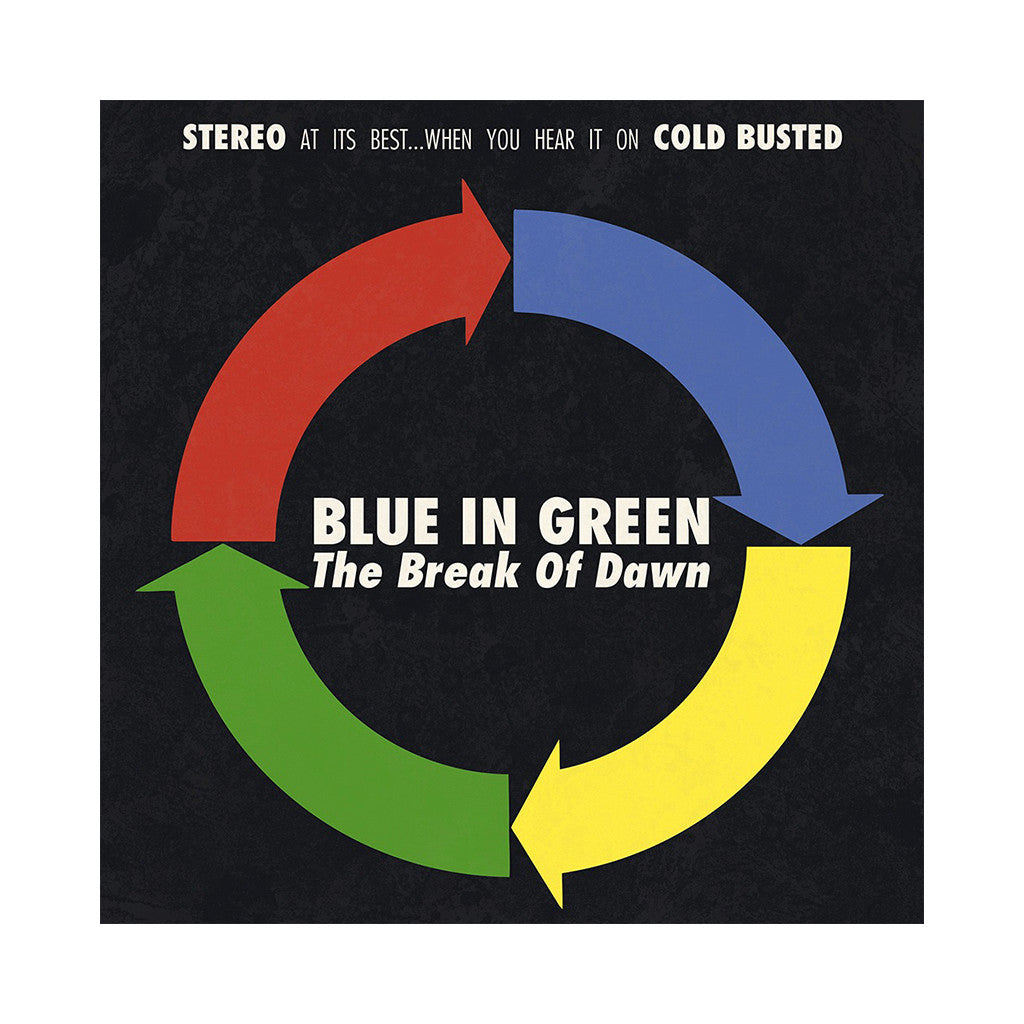 Blue In Green - 'The Break Of Dawn' [CD]