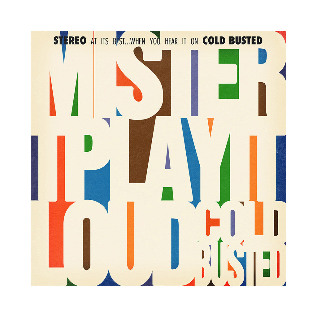 <!--120130903058919-->mister T. - 'Play It Loud' [CD]