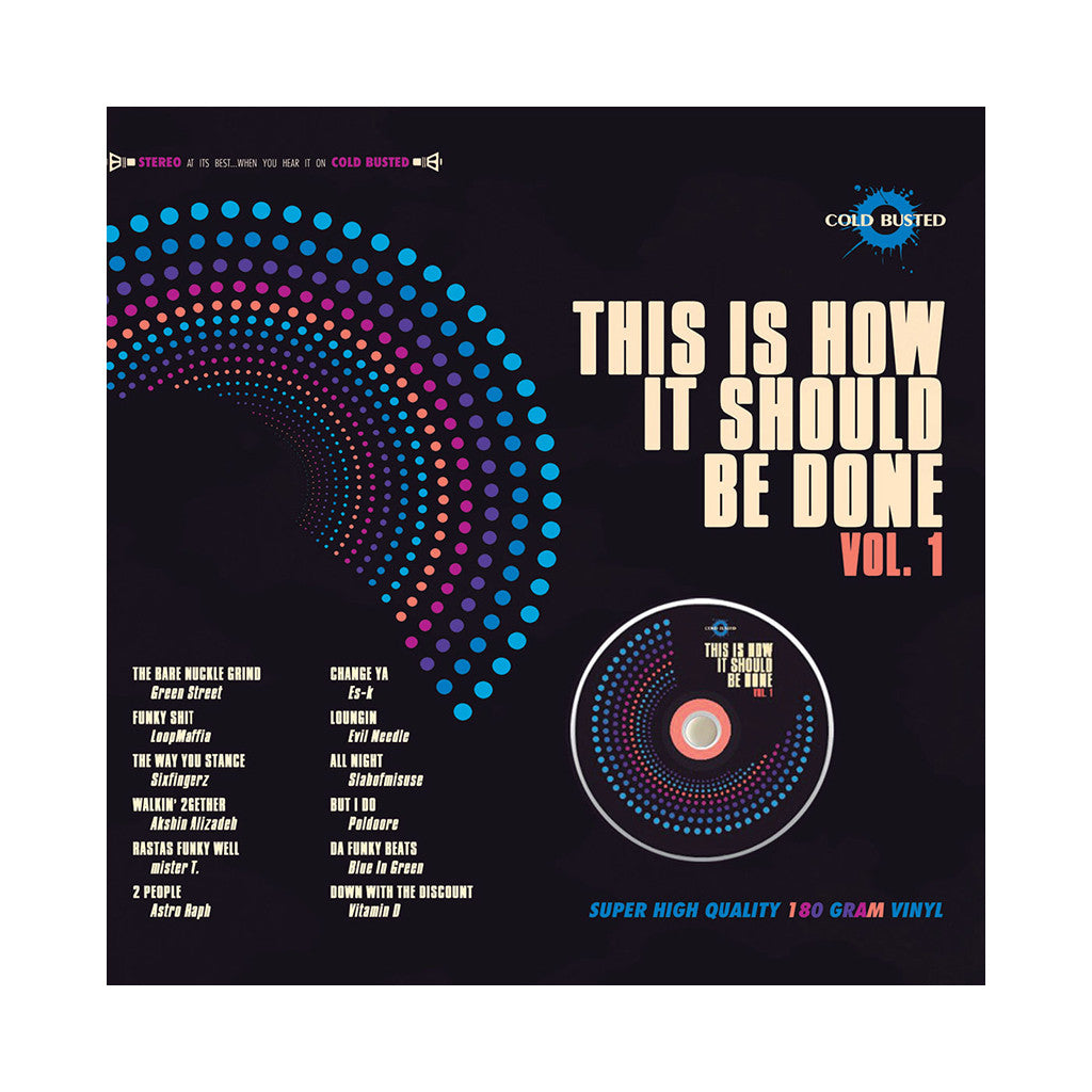 <!--2012091102-->Various Artists - 'This Is How It Should Be Done Vol. 1' [(Black) Vinyl LP]