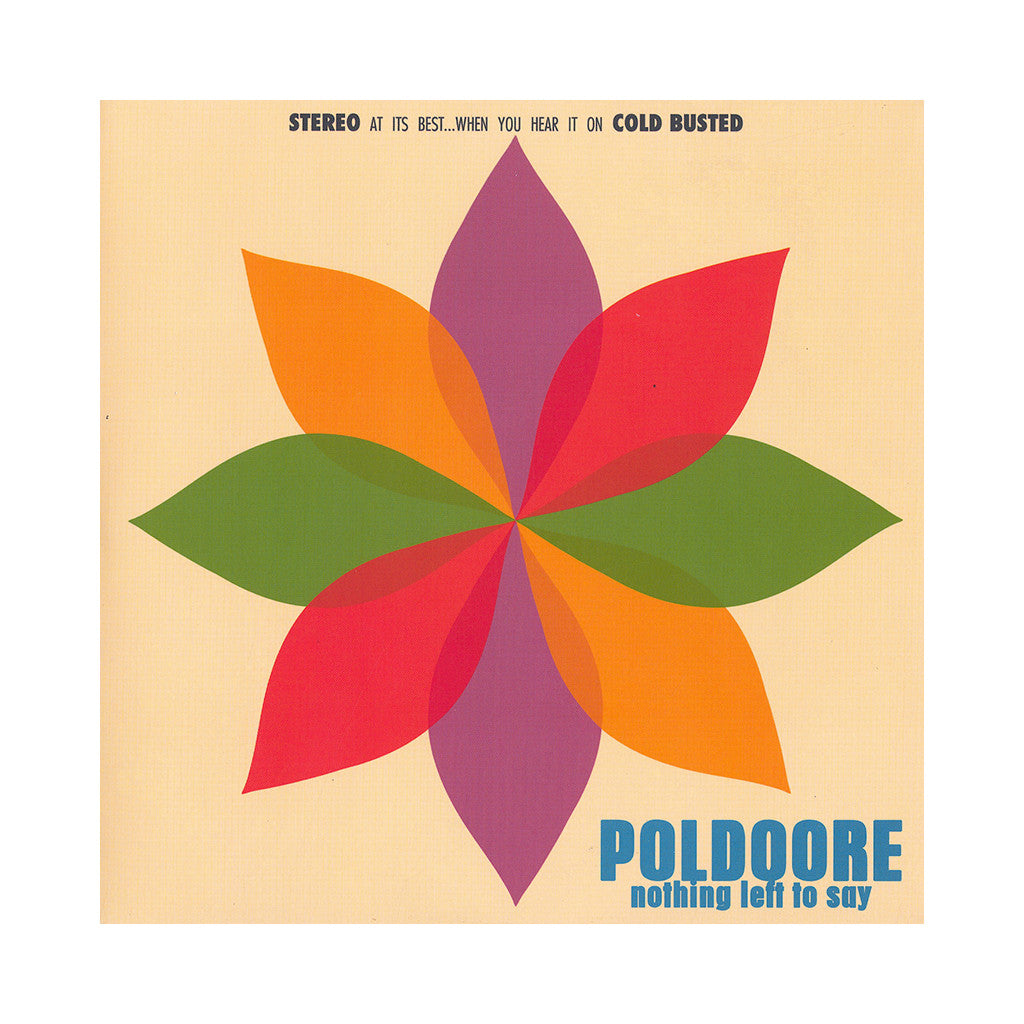 "<!--020130528056107-->Poldoore - 'Nothing Left To Say/ Nothing Left To Say (Remix)' [(Black) 7"" Vinyl Single]"