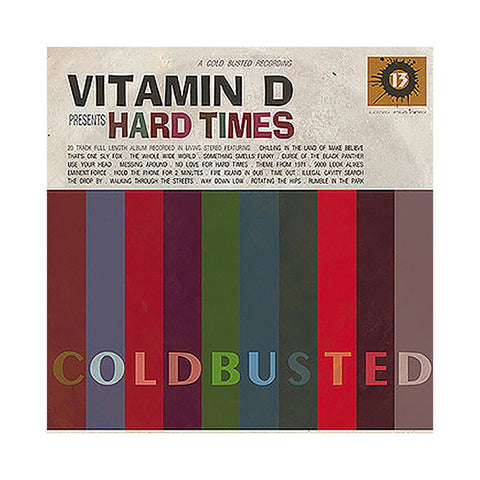 "[""Vitamin D - 'Hard Times' [(Black) Vinyl [2LP]]""]"