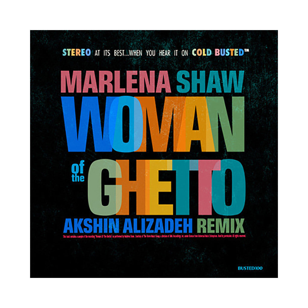 <!--120140617063689-->Marlena Shaw - 'Woman Of The Ghetto (Akshin Alizadeh Remix)' [(Blue) Cassette Tape]