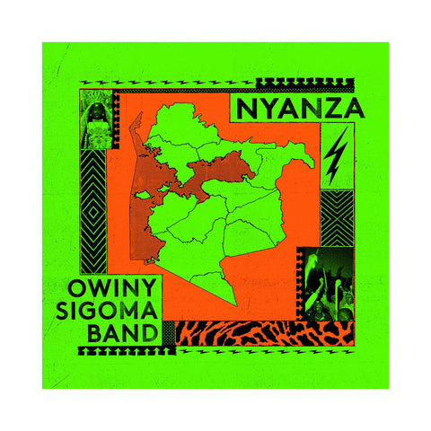 Owiny Sigoma Band - 'Nyanza' [CD]