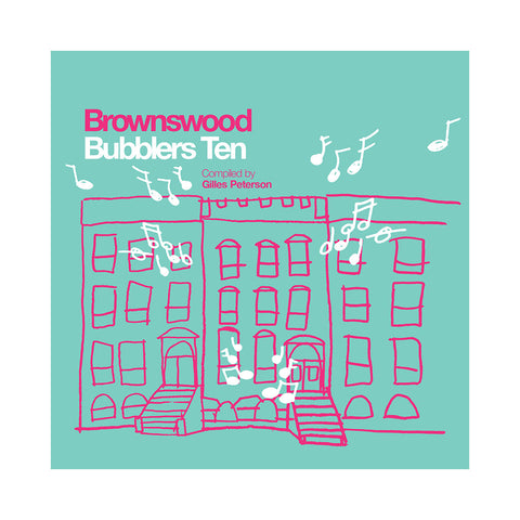 Various Artists (Compiled By: Gilles Peterson) - 'Brownswood Bubblers Ten' [CD]
