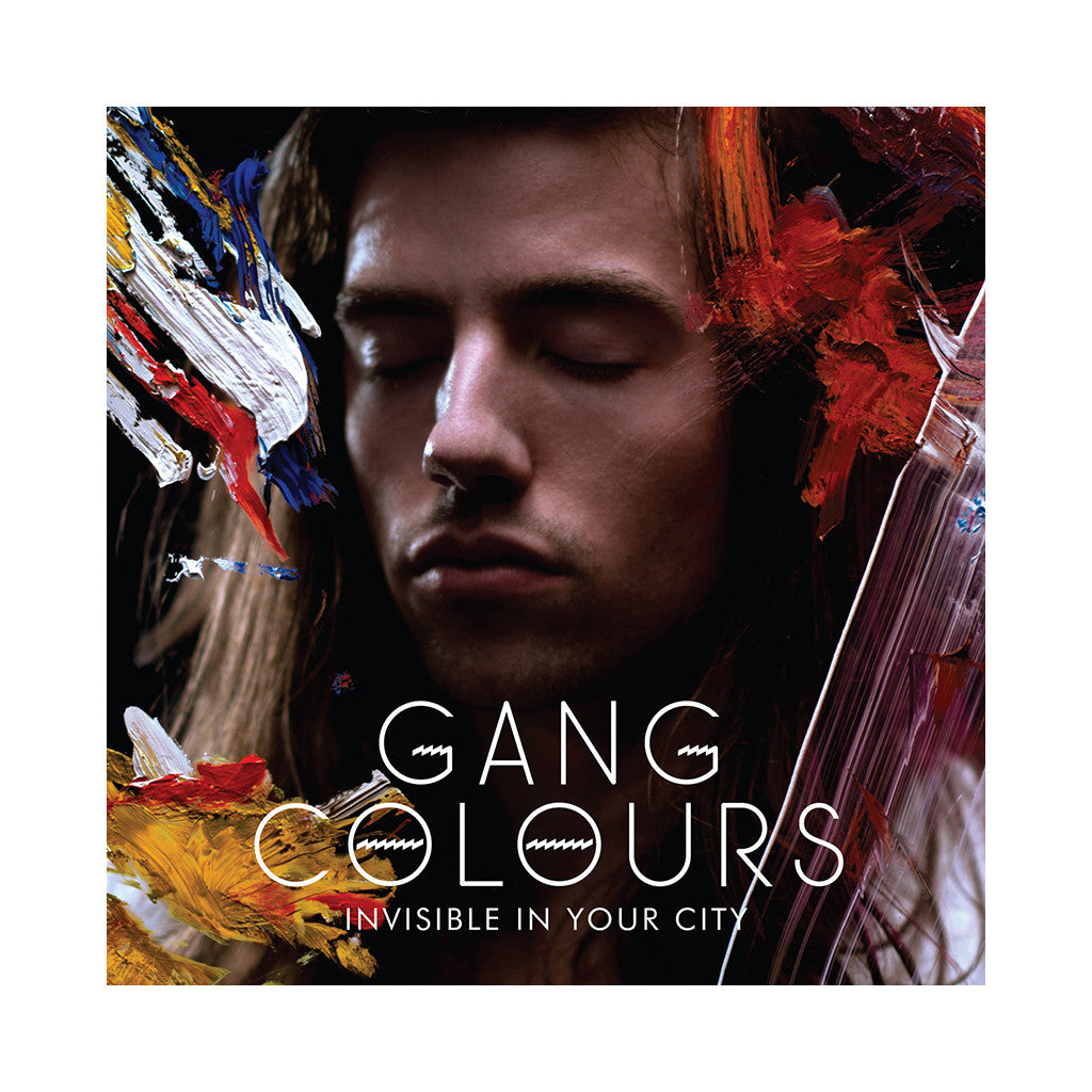 <!--120131001059332-->Gang Colours - 'Invisible In Your City' [(Black) Vinyl LP]