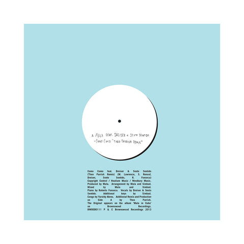 "Mala - 'Como Como (Theo Parrish Remix)/ Como Como' [(Black) 10"" Vinyl Single]"