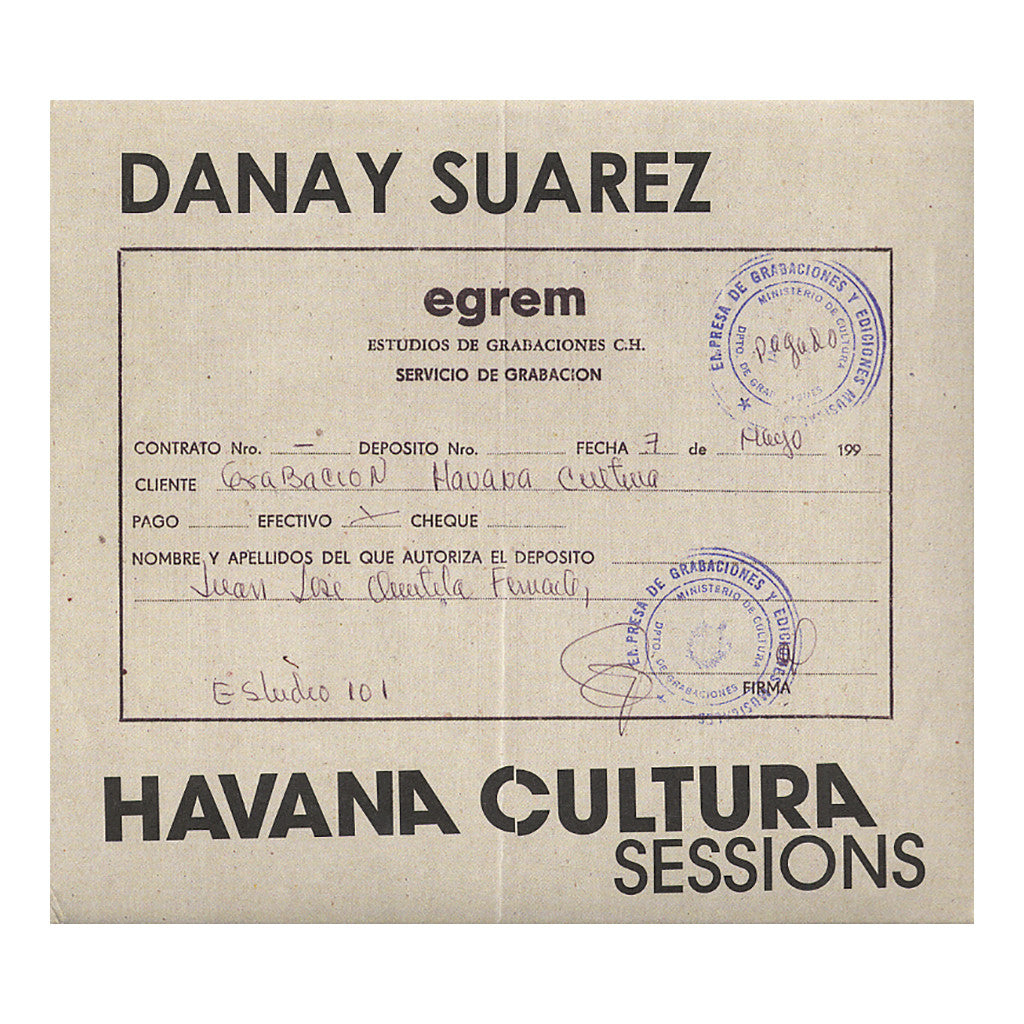 <!--020101221024939-->Danay Suarez - 'Havana Cultura Sessions' [CD]