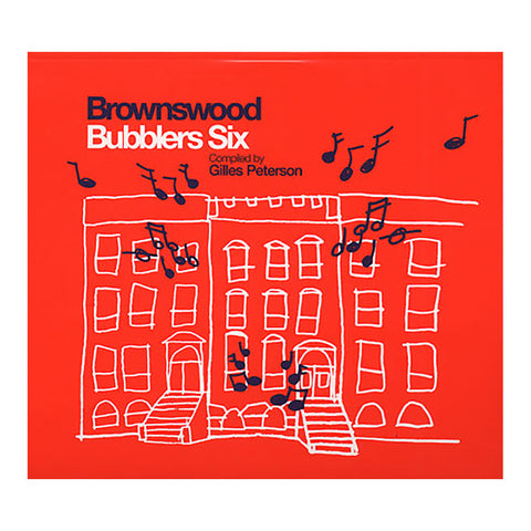 Various Artists (Compiled By: Gilles Peterson) - 'Brownswood Bubblers Six' [CD]