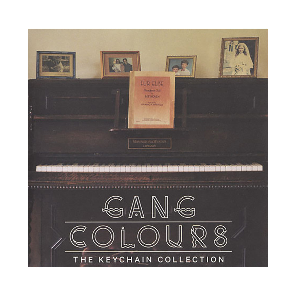 <!--020120327042197-->Gang Colours - 'The Keychain Collection' [(Black) Vinyl LP]