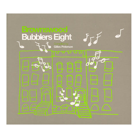 Various Artists (Compiled By: Gilles Peterson) - 'Brownswood Bubblers Eight' [CD]