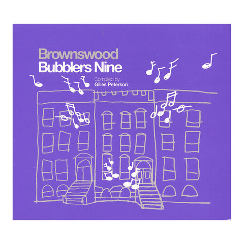 Various Artists (Compiled By: Gilles Peterson) - 'Brownswood Bubblers Nine' [CD]
