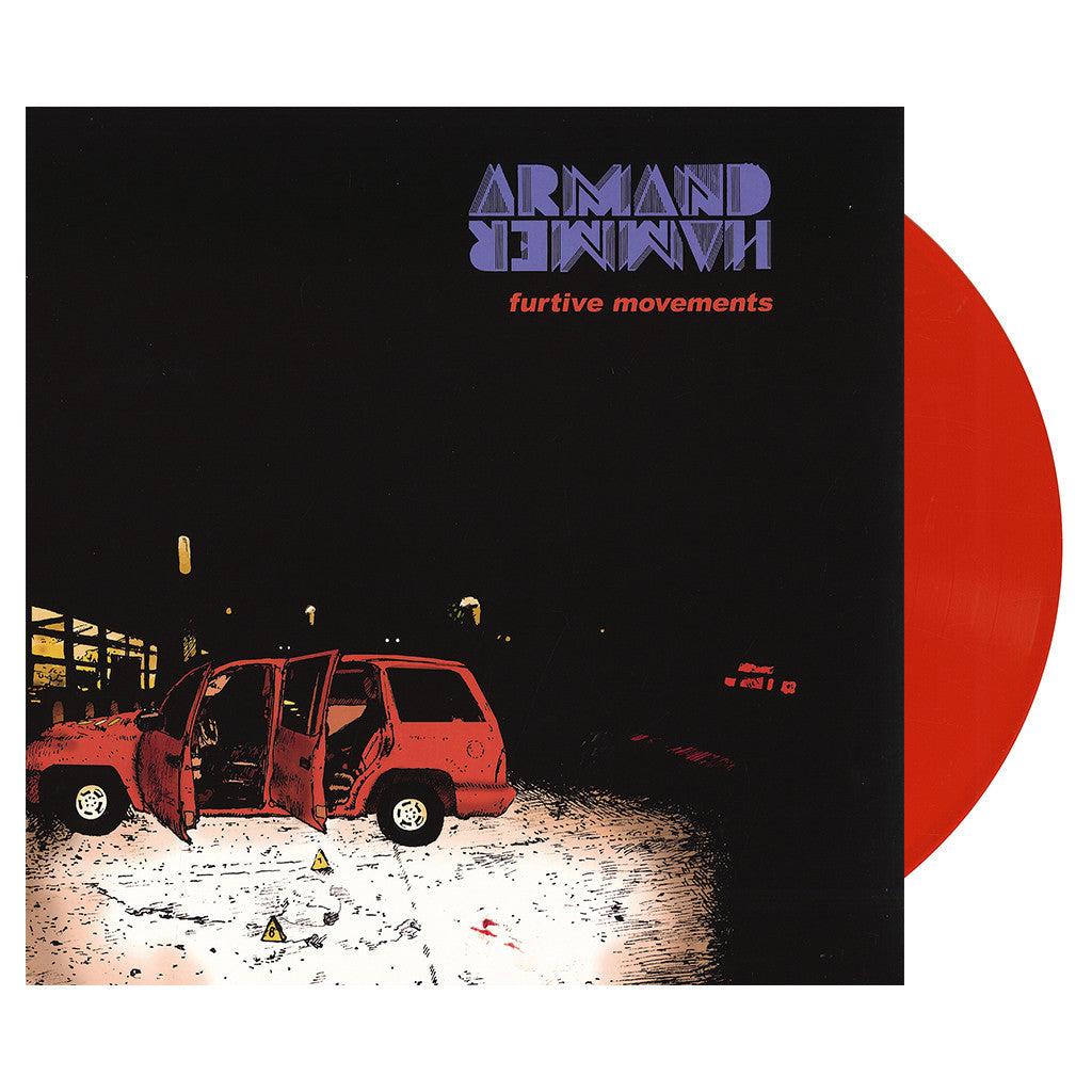 Armand Hammer - 'Furtive Movements' [(Orange) Vinyl LP]
