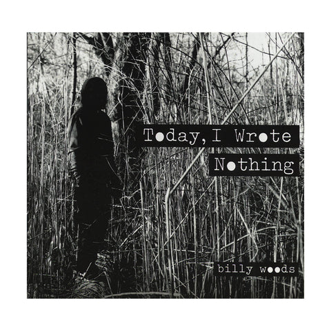 billy woods - 'Today, I Wrote Nothing' [CD]