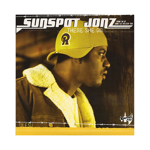 "Sunspot Jonz - 'There She Go/ Mission Begins/ Don't Let Em Stop You' [(Black) 12"" Vinyl Single]"