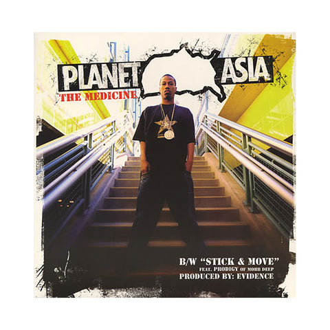 "[""Planet Asia - 'The Medicine/ Stick & Move' [(Black) 12\"" Vinyl Single]""]"