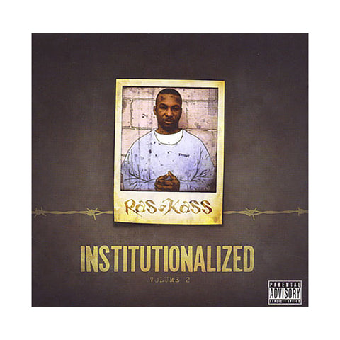 Ras Kass - 'Institutionalized Vol. 2' [CD]