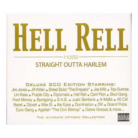 Hell Rell (of Diplomats) Presents - 'Straight Outta Harlem' [CD [2CD]]