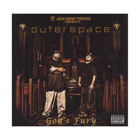 Outerspace - 'God's Fury' [CD]
