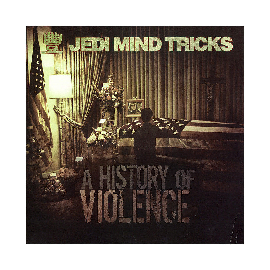 <!--020131203060657-->Jedi Mind Tricks - 'A History Of Violence' [(Clear Red) Vinyl [2LP]]