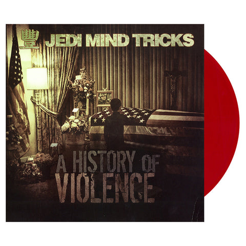 Jedi Mind Tricks - 'A History Of Violence' [(Clear Red) Vinyl [2LP]]