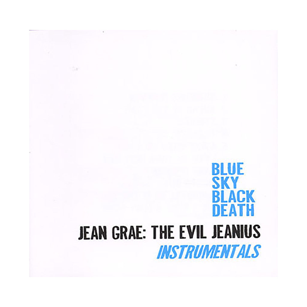 <!--2009031219-->Blue Sky Black Death & Jean Grae - 'Threats (INSTRUMENTAL)' [Streaming Audio]