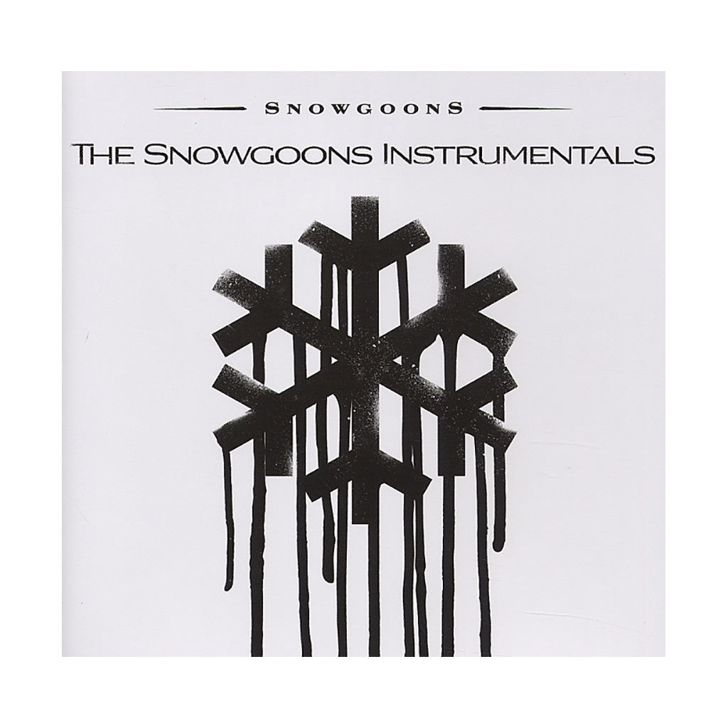 Snowgoons - 'German Lugers + Black Snow (Instrumentals)' [CD [2CD]]