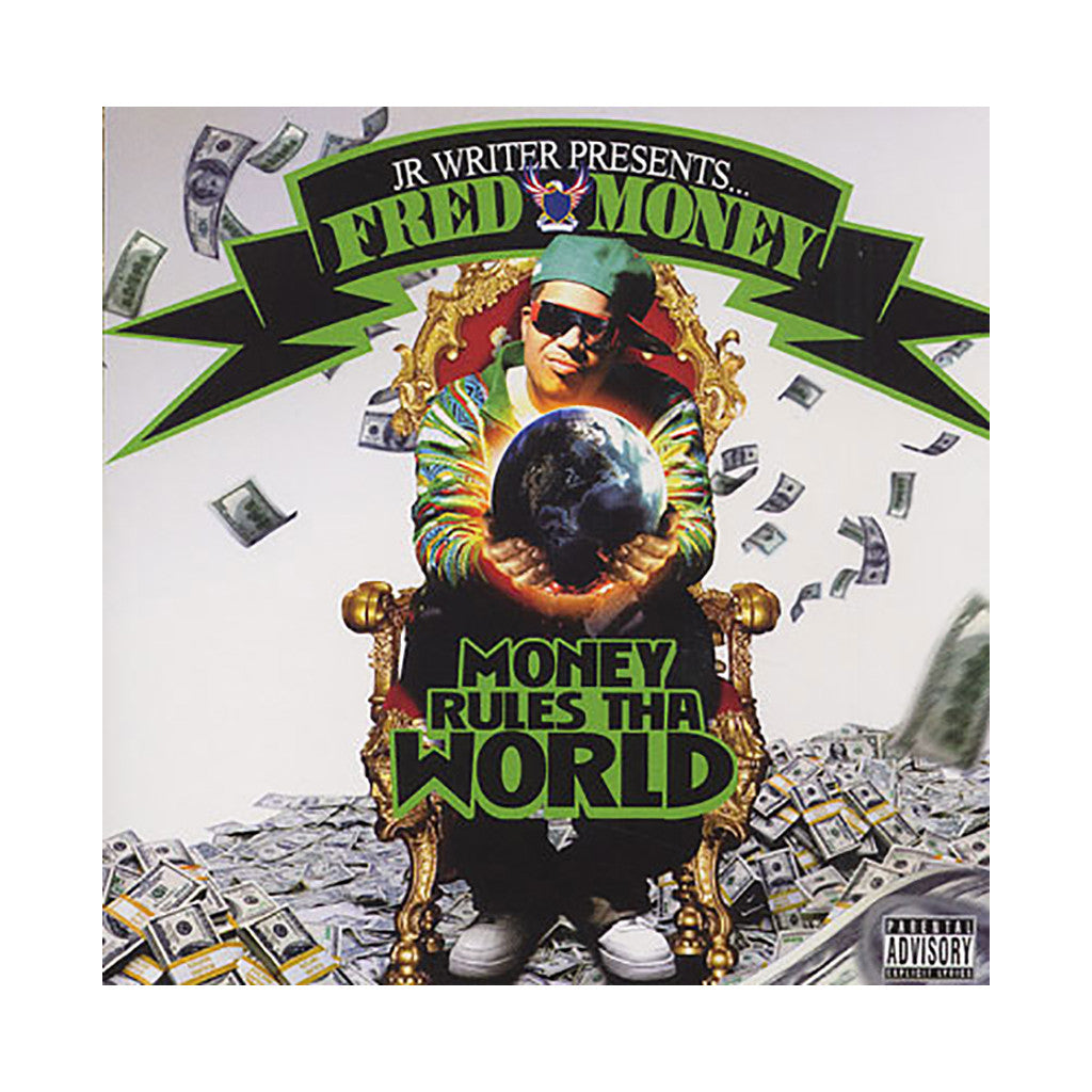 Fred Money (J.R. Writer of Dipset Presents) - 'Money Rules Tha World' [CD]