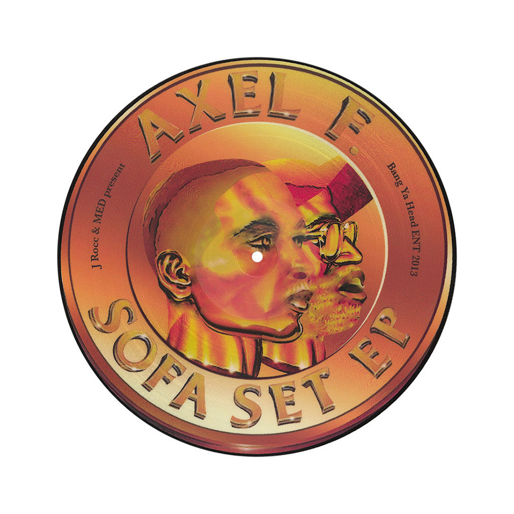 Axel F. - 'The Sofa Set' [(Picture Disc) Vinyl EP]