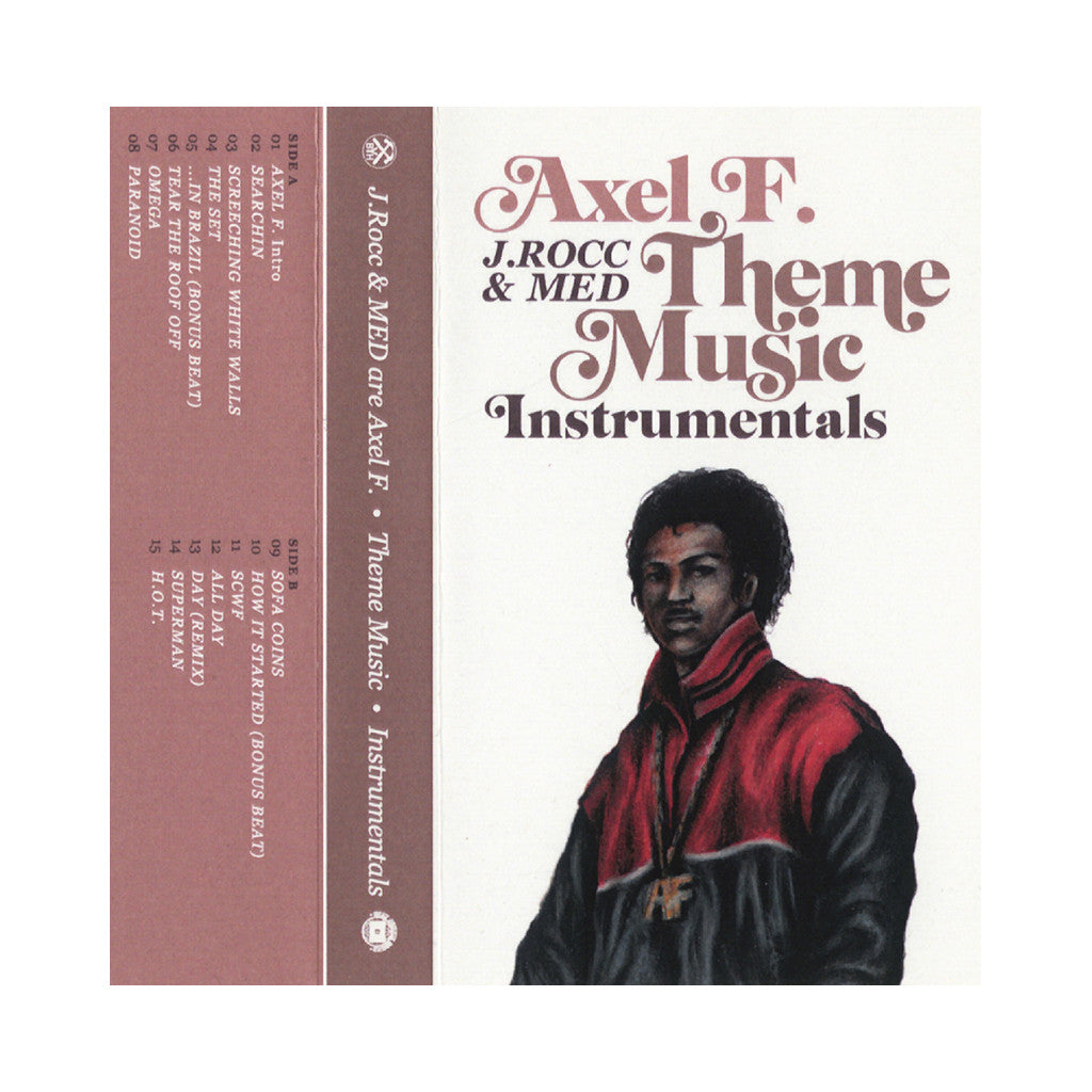Axel F. - 'Theme Music (Instrumentals)' [(White) Cassette Tape]