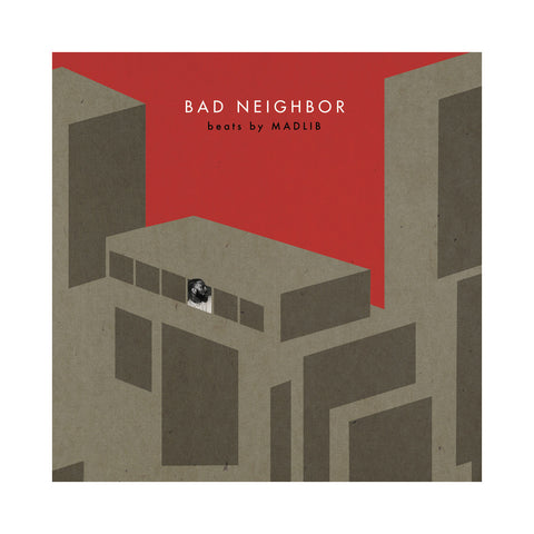 MED & Blu w/ Madlib - 'Bad Neighbor (Instrumentals)' [(Black) Vinyl [2LP]]