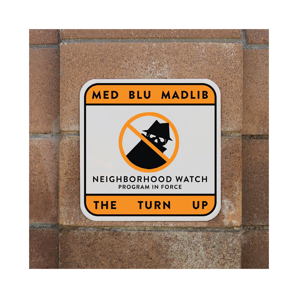 MED & Blu w/ Madlib - 'The Turn Up' [(Black) Vinyl EP]