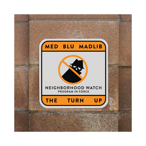 "[""MED & Blu w/ Madlib - 'The Turn Up' [(Black) Vinyl EP]""]"