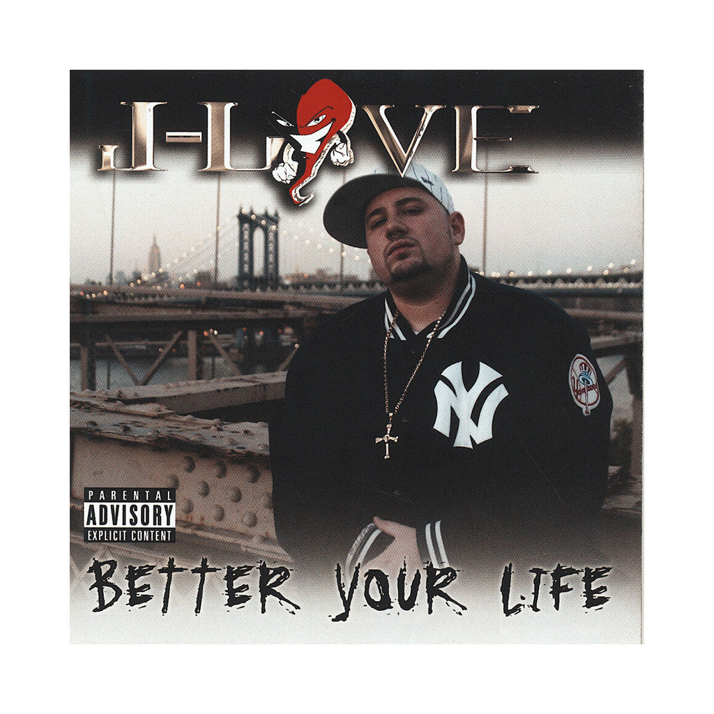 J-Love - 'Better Your Life' [CD]