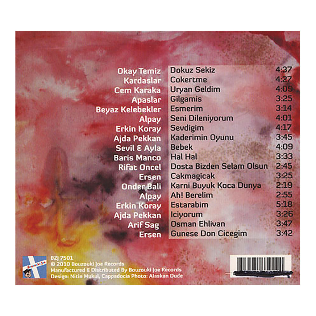 Various Artists - 'Turkish Freakout!: Psych-Folk Singles, 1969-1980' [CD]