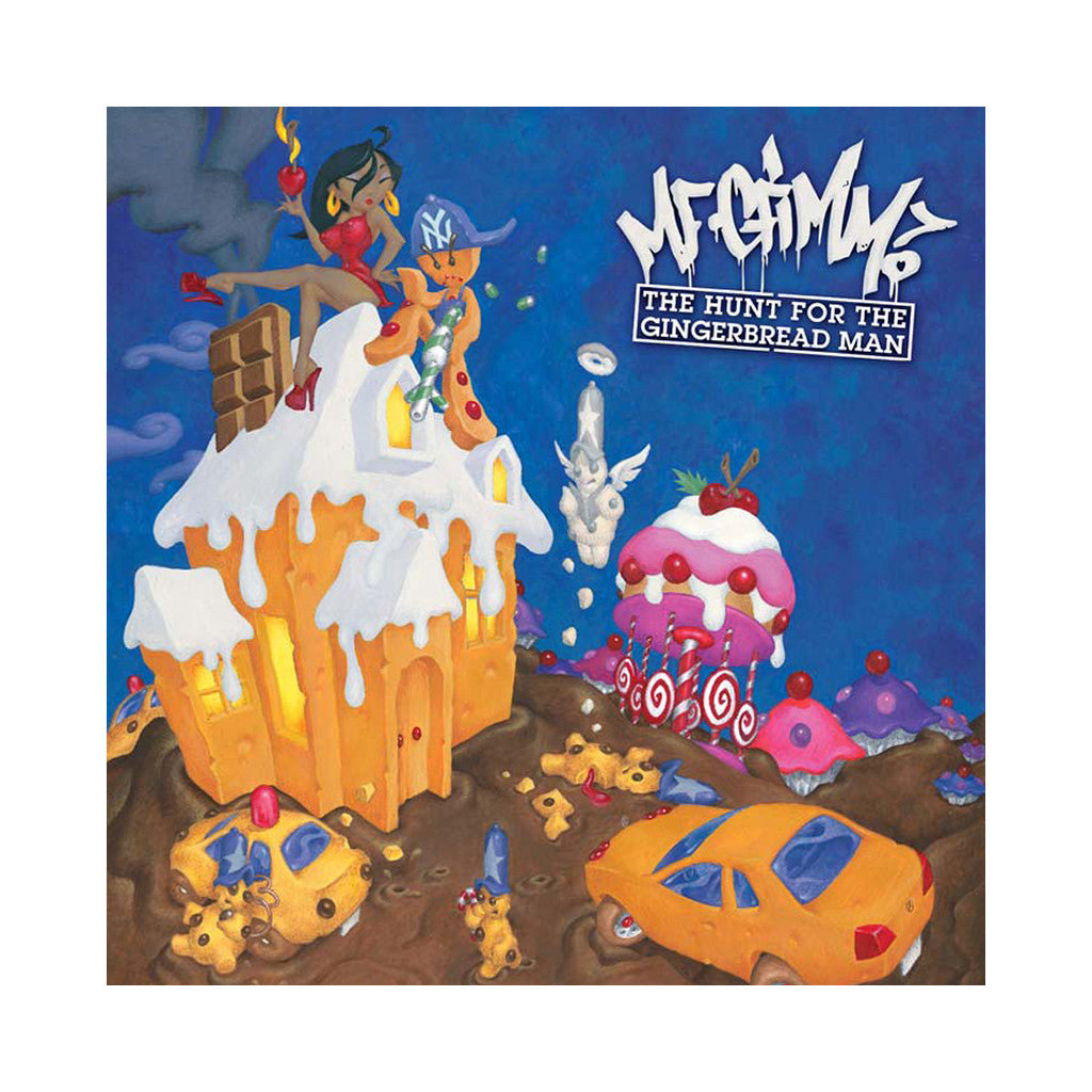 M.F. Grimm - 'The Hunt For The Gingerbread Man' [CD]