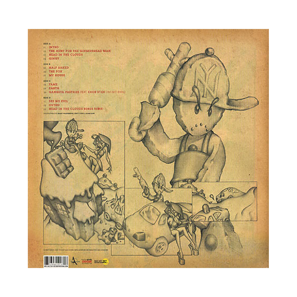 <!--020071009010702-->M.F. Grimm - 'The Hunt For The Gingerbread Man' [(Black) Vinyl [2LP]]