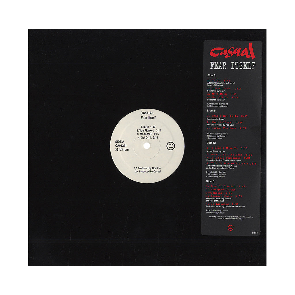 Casual - 'Fear Itself' [(Black) Vinyl [2LP]]