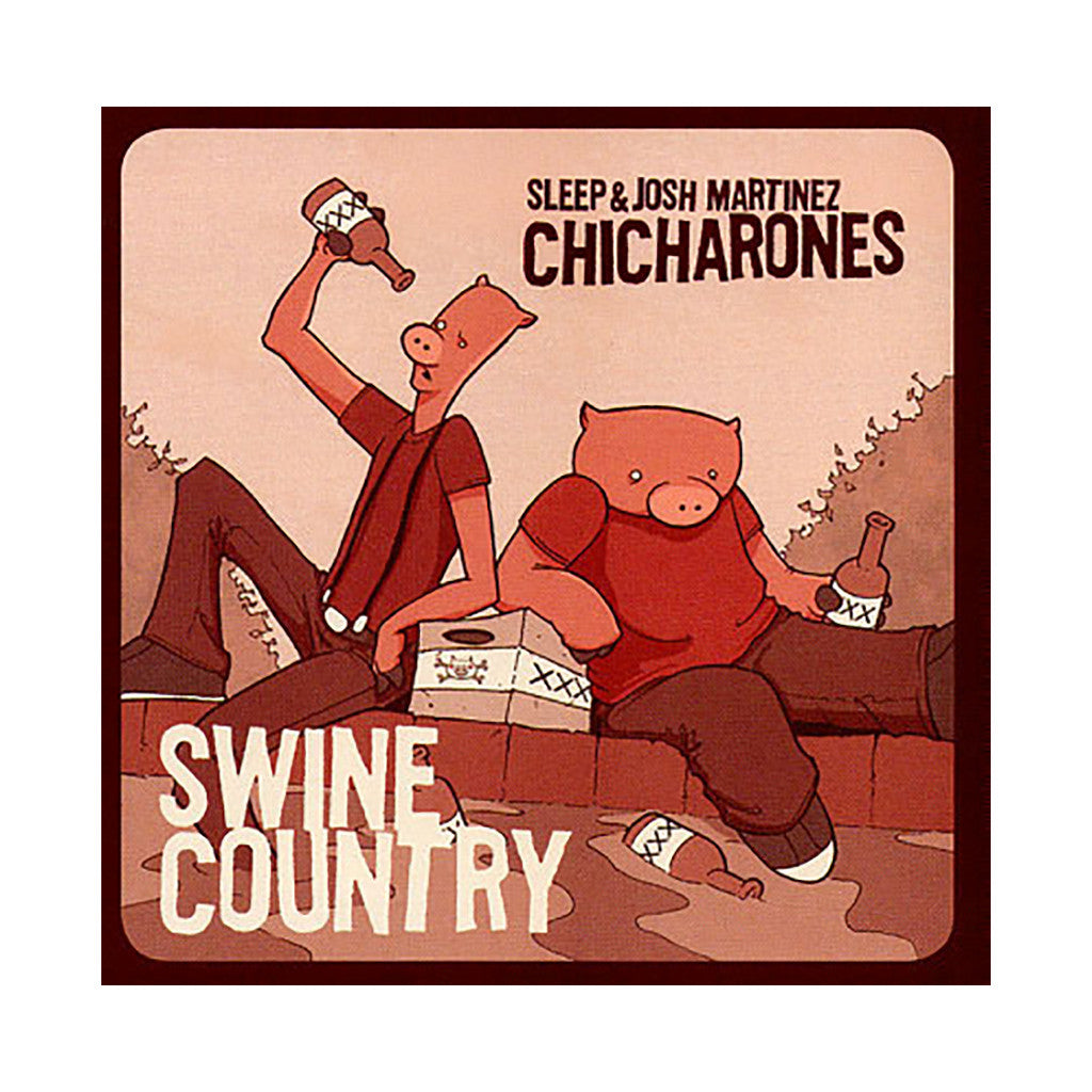 The Chicharones - 'Swine Country EP' [CD]