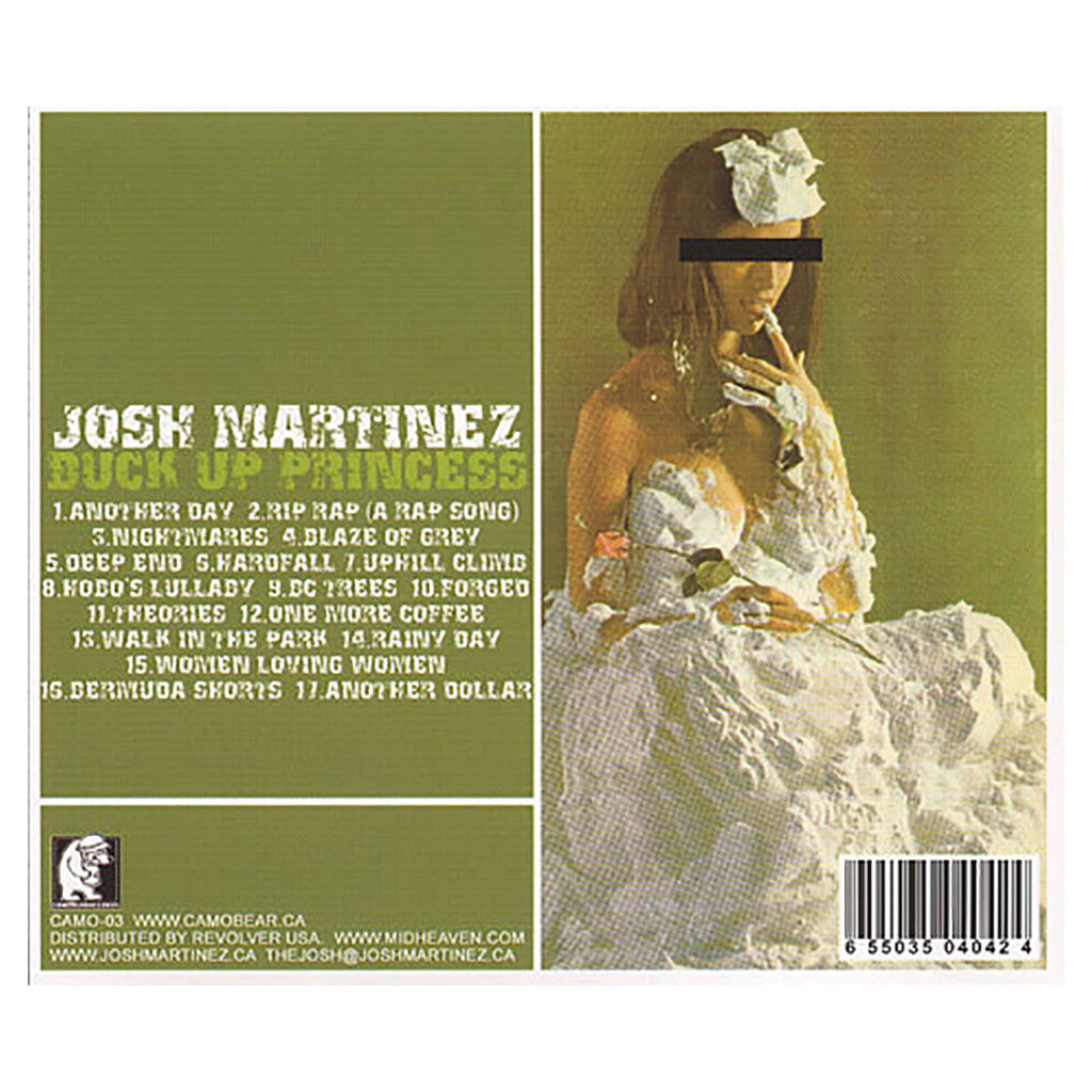 Josh Martinez - 'Buck Up Princess' [CD]