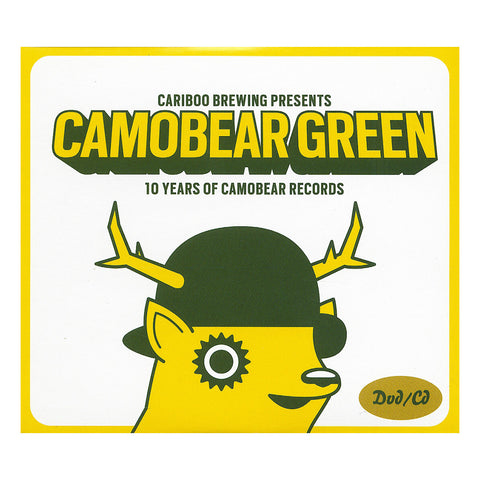 "[""Camobear Records - 'Camobear Green: 10 Years Of Camobear Records' [DVD]""]"