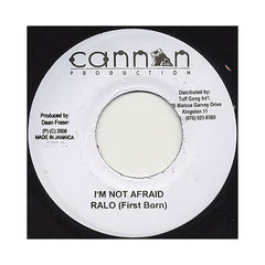 "<!--020080715014405-->Luciano b/w Ralo - 'Jah Live b/w I'm Not Afraid' [(Black) 7"""" Vinyl Single]"