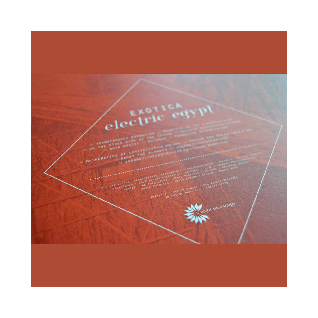 Electric Egypt - 'Exotica (Red)' [(Red) Vinyl LP]