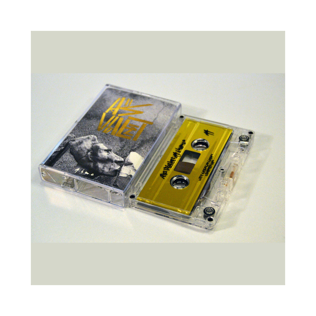 As Valet - 'A.K.W.A.' [(Gold) Cassette Tape]
