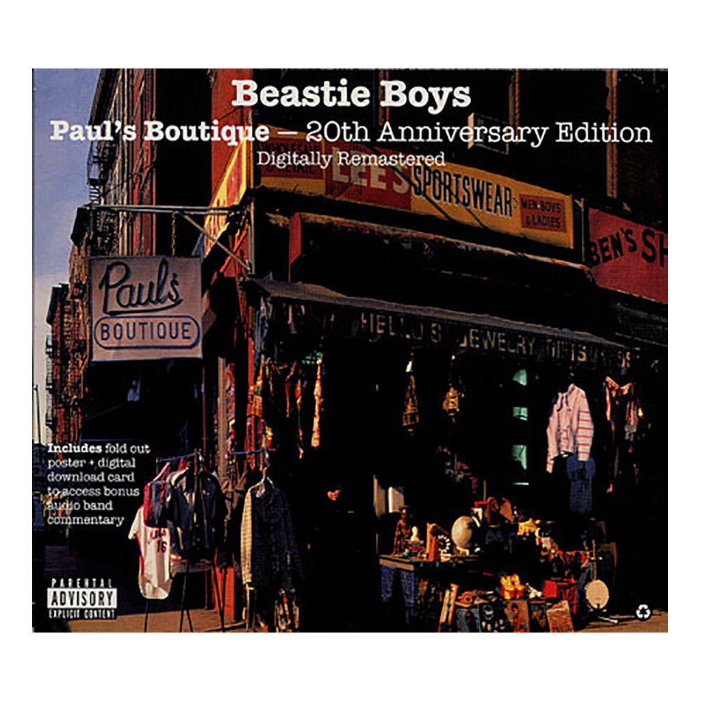 <!--2009021056-->Beastie Boys - 'Paul's Boutique: 20th Anniversary Remastered Edition' [CD]