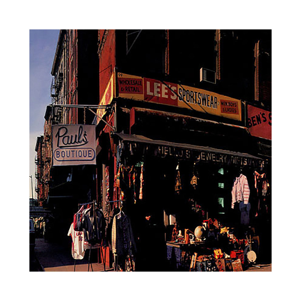Beastie Boys - 'Paul's Boutique: 20th Anniversary Remastered Edition' [(Black) Vinyl LP]