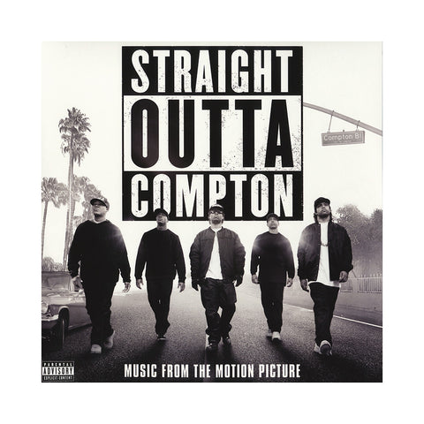 "[""Various Artists - 'Straight Outta Compton (Music From The Motion Picture)' [(Black) Vinyl [2LP]]""]"